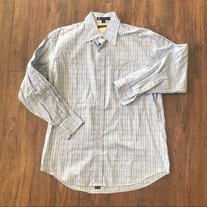 Tommy Hilfiger TLC Blue Striped Button Up Shirt